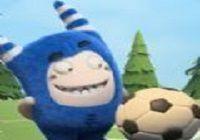 足球特色幼儿园好玩吗?最可爱的亲字运动游戏!