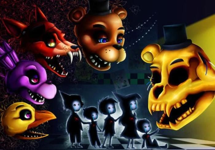 夏日想要清凉?不妨尝试这款恐怖经典《玩具熊的五夜后宫4》!