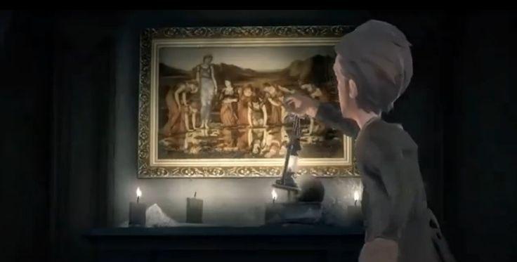 侦探进入庄园在房间中通过蛛丝马迹
