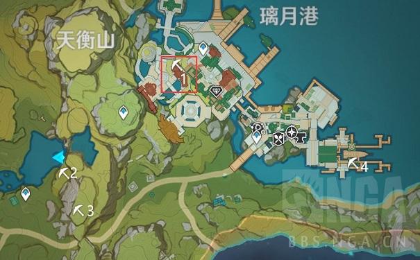 原来的天恒山鲤鱼港有多少宝箱?天横山鲤鱼港宝箱位置图
