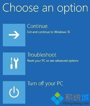 选择右边的Advanced options