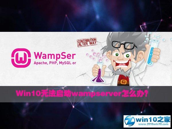 win10系统无法启动wampserver的解决方法