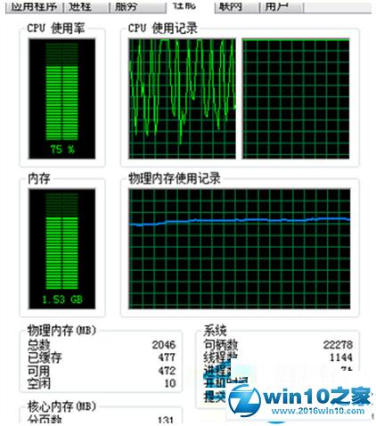 win10系统CPU使用率高达70%的解决方法 data-cke-saved-src=