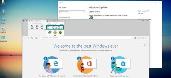 """win10系统关闭edge浏览器""""欢迎使用""""界面的操作方法"""